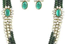 Attractive Kundan Wedding Party Bollywood Necklace Jewelry Set