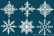 Snowflake Style / Wintry, snowflake-inspired inspiration: fashion, DIY, crafts & more!