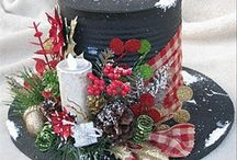 Christmas Decor / Christmas Décor that makes me smile / by Chellie Hailes