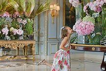 Hotel Lobby Flower Inspiration