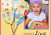 Kids card & page ideas