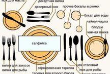 Посуда,сервировка