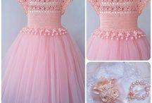 Вязание. Платье3