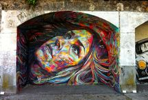 Urban Art / Paintings, stenciles or anything that enhance the urban landscape