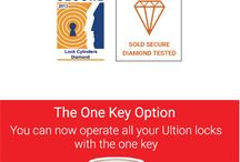 Ultion Locks / Ultion 3 Star Diamond Sold Secure Cylinders, the most secure cylinder available in the UK Market. The Locksmiths choice!