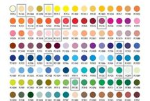 Coloured Pencil chart