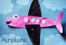 Air transport crafts / This page has a lot of free Air transport crafts for preschool kids,parents and teachers.
