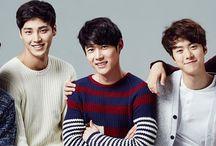 "5urpr!se / 5urpr!se (Hangul: 서프라이즈, pronounced ""Surprise"") is a South Korean idol band formed in 2013. Their members consist of Seo Kang-joon, Gong Myung, Yoo Il, Kang Tae-oh and Lee Tae-hwan."