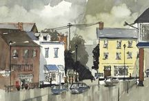 Watercolours from the West Country