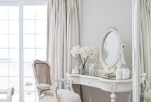 White furniture & decor