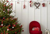 kerst  rood wit en een klein beetje grijs