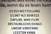 Kannst du es lesen?