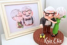 Kriz Eliz sculpts / This board features all the sculpts and figures I have created
