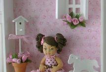 miniaturas quarto infantil