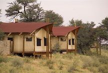 Kalahari Tented Camp / Luxury and desert conditions might sound like a conflicting set to the potential holidaymaker, especially when tented accommodation is added to this description, but the Kalahari tented camp site offers just that.  http://www.go2global.co.za/listing.php?id=895&name=Kalahari+Tented+Camp
