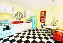Dream Kitchen: Vintage, Retro, Mid Century / by Kristin Leedy Kessler