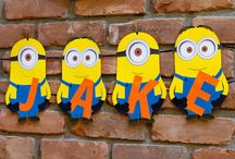 Minion birthday party / Despicable me minion party ideas