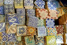 Inspiration: Moroccan. Ideas for tiles, bathrooms and interior design. / Inspiration for your Moroccan projects. Bathroom, kitchen, tile interior design ideas. Visit us at ROCCIA to assist you in creating your dream room. www.roccia.com