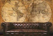 map decor