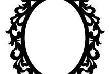 Lijstsilouette barok