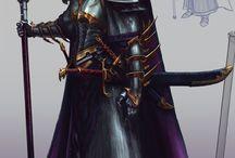 Epic fantasy (Warhammer and Warcraft)