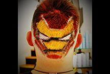 Hair tattoo creations