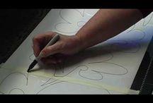 Quilting -- pantographs