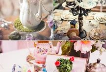 Alice In Wonderland Party | Botez Alice in Tara Minunilor / Inspiration for an wedding / party or baby shower with the theme Alice in Wonderland | Inspiratie pentru un botez / petrecere sau nunta Alice in Tara Minunilor