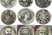 monety / by Zofia Morozowska
