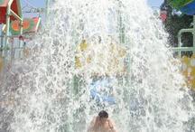 My friends get water fall
