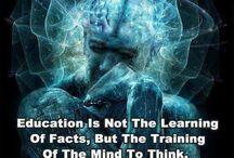 Education / by Susan Bradner