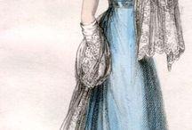 1823-1827 woman fashion