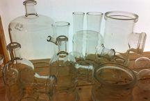 Vintage borosilicate glass