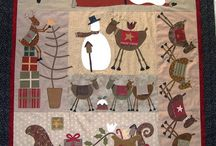 Quilts ~ Christmas/Winter / by Anna Quilting & Wool