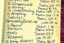 žalmy, citáty,...atd.
