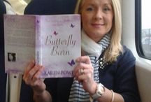 Butterfly Barn on Tour / Here are some photographs I have received on Butterfly Barn from readers around the world http://www.karenpowerauthor.com