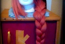 My wigs / Parókáim