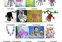 ABC handprints