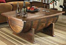 Fantasifulde hjemmelavede møbler