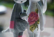 Мишки Тедди, зайчики, слоники и другие милахи.