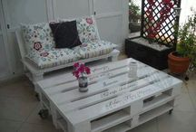 Pallet ideas / by Leslie Spano