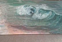 my own paintings