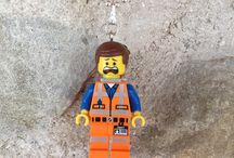 gagabricks.etsy.com / LEGO minifigure necklace