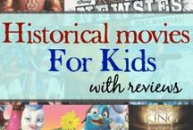 Movies to kickstart Education / Using movies to teach and tie in with reading, literature, and history curriculum.