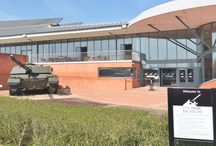 Bovington Tank Museum / A modern and spacious museum housing many exhibits of tanks and armoured vehicles from WW1 to present day. Facts and personal accounts of the human sacrifice and suffering. Highly recommended.