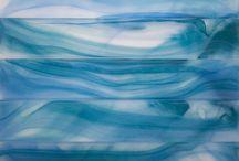 Swirl Series Glass Tile
