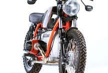 Motos / Custom motorcycle / by Wenceslao Muñoz