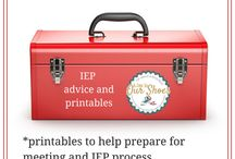 Parents ToolKit / Preparing for IEP meetings, asking for appropriate accommodations, tips for teachers
