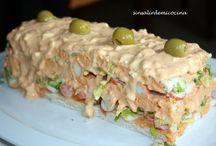 Sandwich y pasteles frios