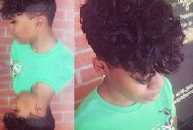 Natural curly and kinky hairstyles / Kinky, curly hairstyles on natural ladies.